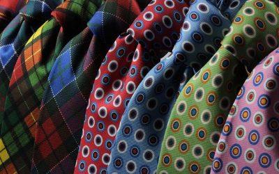 03 différents types de cravates très utilisées